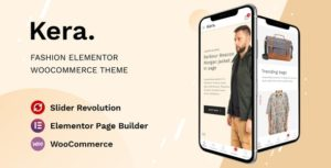 Kera – Fashion Elementor WooCommerce Theme v1.1.0 nulled