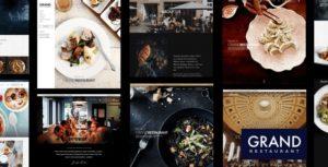 Grand Restaurant – WordPress Theme v5.8.1 Nulled