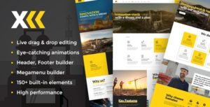 Samatex – Industrial WordPress Theme + Woocommerce v2.3 nulled
