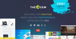 TheGem – Creative Multi-Purpose High-Performance WordPress Theme v4.5.4 Nulled