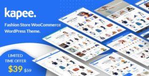 Kapee – Fashion Store WooCommerce Theme v1.3.5 Nulled