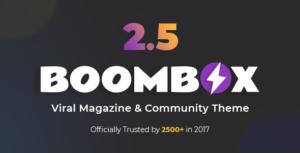 BoomBox – Viral Magazines WordPress Themes v2.6.8 nulled