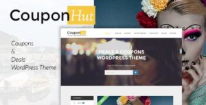 CouponHut – Coupons & Deals WordPress Theme v3.0.3 nulled