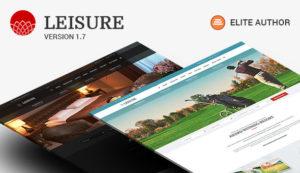 Hotel WordPress Theme | Hotel Leisure v2.1.17 nulled