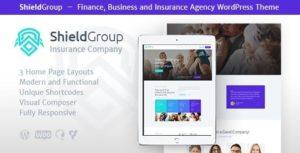 ShieldGroup   An Insurance & Finance WordPress Theme v1.1.4 nulled