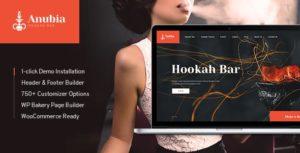 Anubia | Smoking and Hookah Bar WordPress Theme v1.0.4 nulled