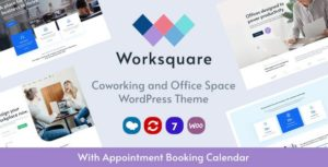 Worksquare – Coworking and Office Space WordPress Theme v1.2 nulled
