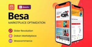 Besa – Elementor Marketplace WooCommerce Theme v1.2.9 nulled