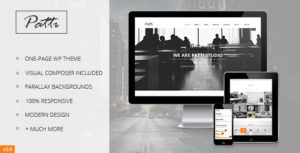 Patti – Parallax One Page WordPress Theme v2.9.16 nulled