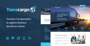 Transcargo – Transportation WordPress Theme for Logistics v2.4 nulled