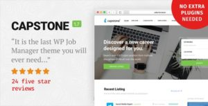 Capstone: Job Board WordPress Theme v1.7.2 nulled