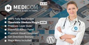 Medicom – Medical & Health WordPress Theme v3.0.8 nulled