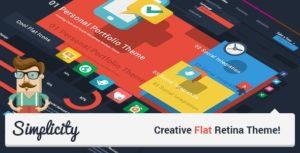 Simplicity – Creative Flat Retina Theme v2.1 nulled