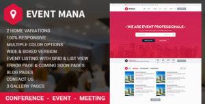 Event Management WordPress Theme v1.8.8 nulled