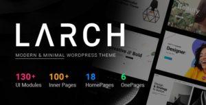 Larch – Responsive Minimal Multipurpose WordPress Theme v1.9.5 nulled