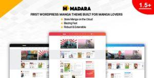Madara – WordPress Theme for Manga v1.6.5.3 nulled