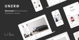 Unero – Minimalist AJAX WooCommerce WordPress Theme v1.9.2 nulled