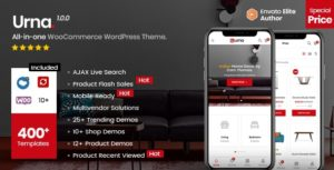 Urna – All-in-one WooCommerce WordPress Theme v2.2.7 nulled
