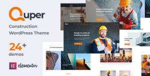 Quper – Construction and Architecture WordPress Theme v1.5 nulled