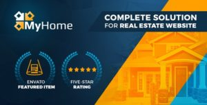 MyHome | Real Estate WordPress Theme v3.1.56 nulled