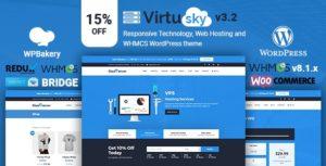 VirtuSky   Responsive Web Hosting and WHMCS WordPress Theme v3.2 nulled
