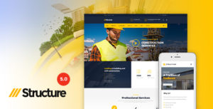 Structure – Construction WordPress Theme v7.0.2 nulled