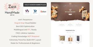 Zass – WooCommerce Theme for Handmade Artists and Artisans v3.9.0 nulled