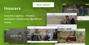 Insurers – Insurance Agency WordPress Theme v3.0.7 nulled