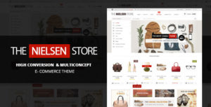 Nielsen – E-commerce WordPress Theme v1.9.15 nulled