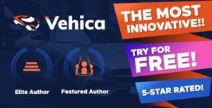 Vehica – Car Dealer & Automotive Directory v1.0.50 nulled